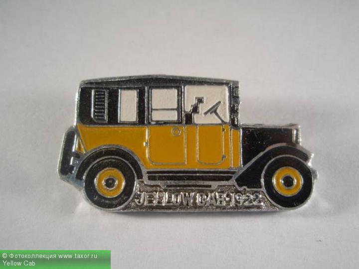 Галерея: История автомобилей мира в значках — Yellow Cab
