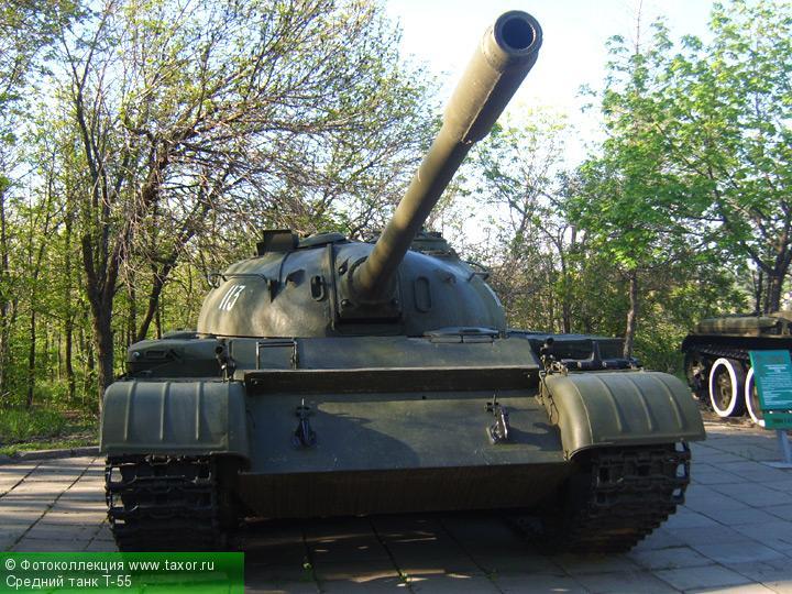 Галерея: Военная техника — Средний танк Т-55