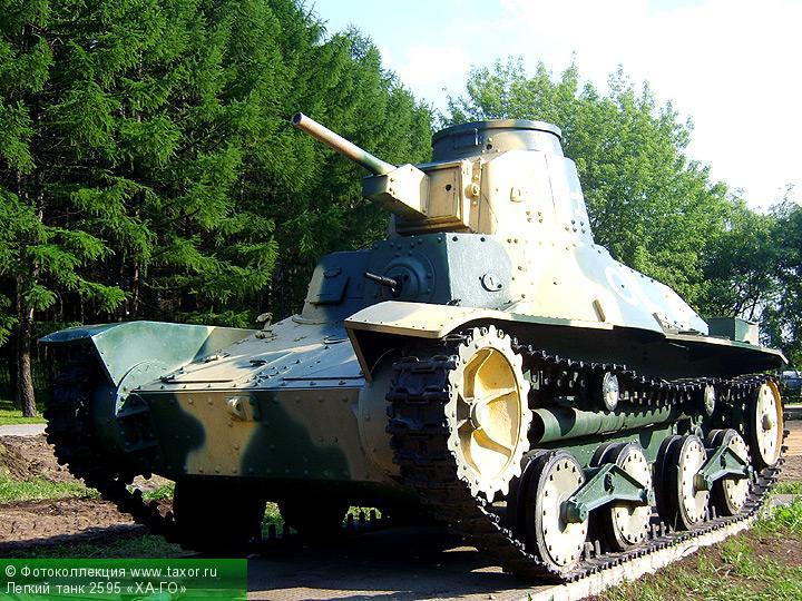 Галерея: Военная техника — Легкий танк 2595 «ХА-ГО»