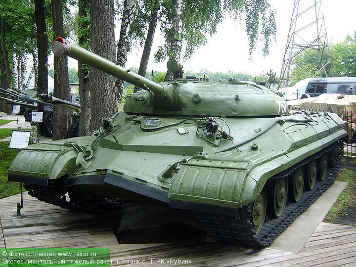 Галерея: Военная техника — Экспериментальный тяжелый ракетный танк с ПТРК «Рубин»