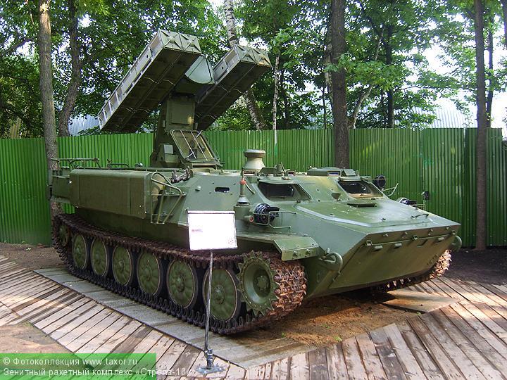 Галерея: Военная техника — Зенитный ракетный комплекс «Стрела-10»