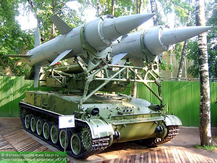 Галерея: Военная техника — Зенитно-ракетный комплекс «КРУГ»