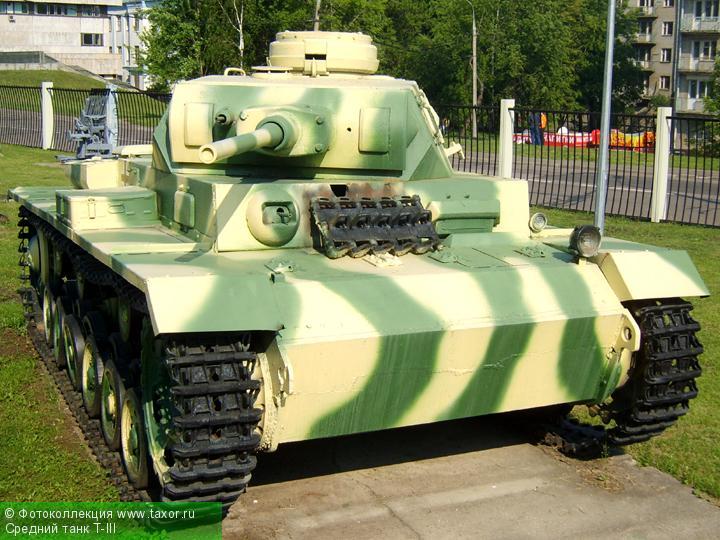 Галерея: Военная техника — Средний танк T-III