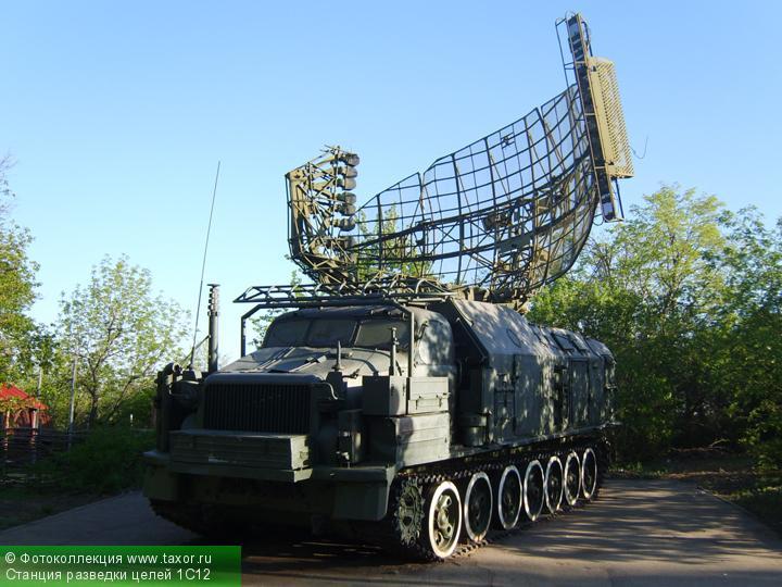 Галерея: Военная техника — Станция разведки целей 1С12