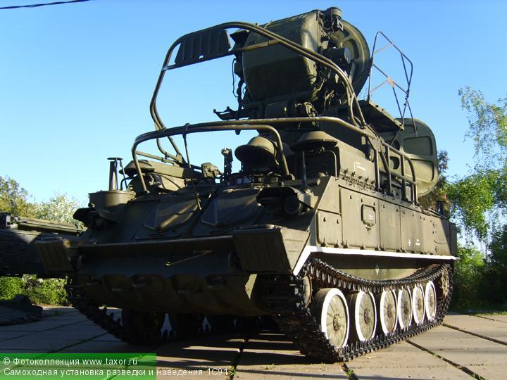 Галерея: Военная техника — Самоходная установка разведки и наведения 1С91