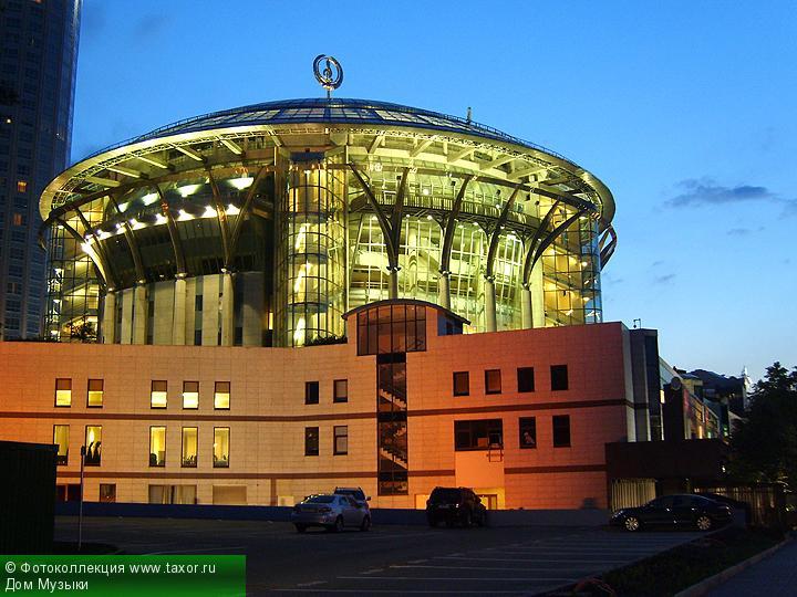 Галерея: Ночная Москва — Московский международный Дом музыки