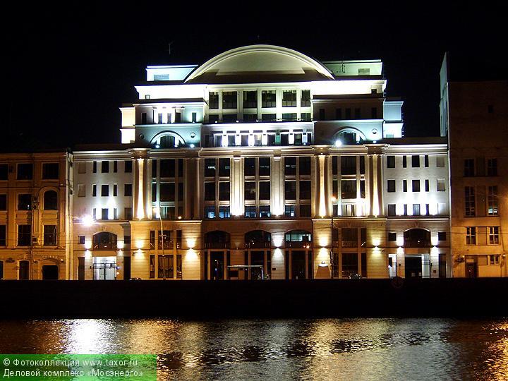 Галерея: Ночная Москва — Деловой комплекс «Мосэнерго»