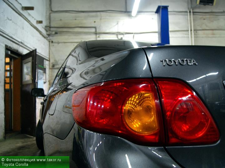 Галерея: Ракурс — Toyota Corolla