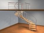 Спиральная лестница (2) - увеличить фотографию