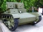 Двухбашенный легкий танк Т-26 - увеличить фотографию