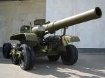 Ствол 203-мм гаубицы - увеличить фотографию