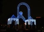 Светодиодная инсталляция в Якиманском сквере - увеличить фотографию