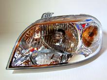 Фотография фары Chevrolet Aveo для сайта www.avtomag.su