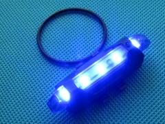 Магазин ТАКСОР: Светодиодный велофонарь (синий) (фото ) — 350 руб.
